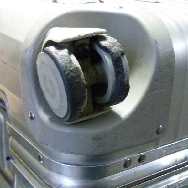 前後異径4輪 初期型 TOPAS 50mm双輪キャスター