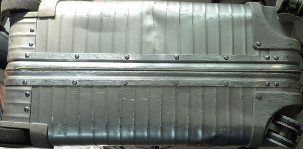 初期型4輪TOPASの底が擦ってガビガビになる