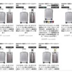 オンラインショップ オリジナル/トパーズ用スーツケースカバー販売ページ