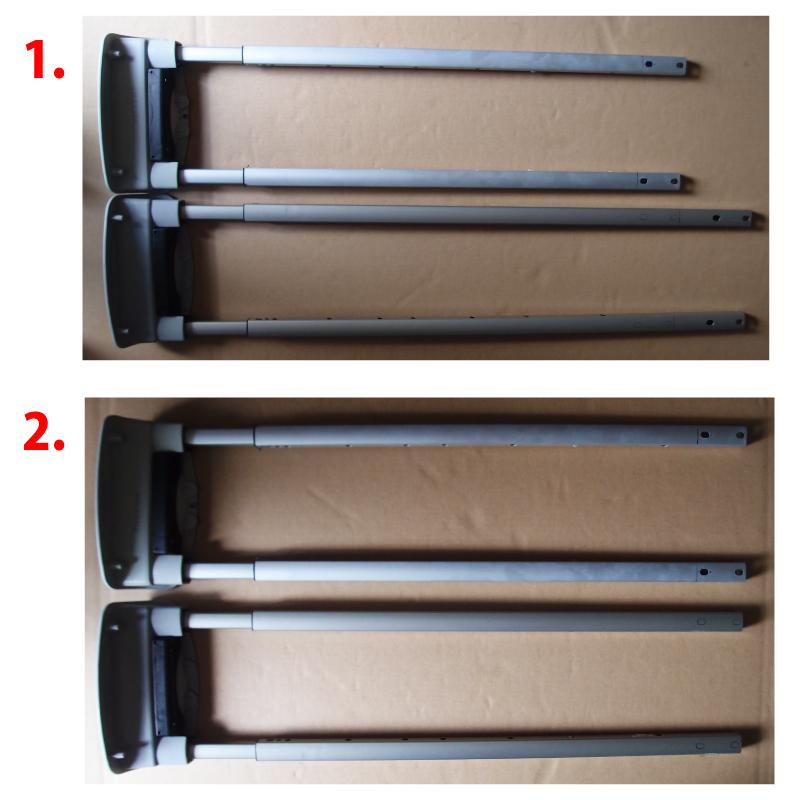 テレスコープハンドルの長さ調整1