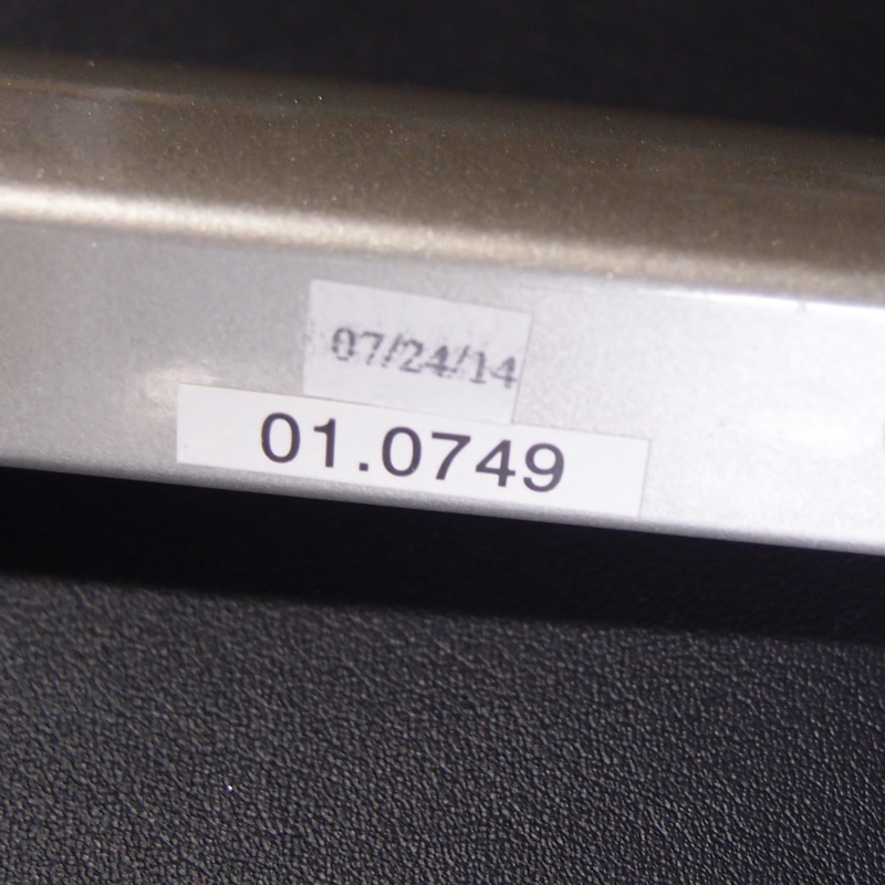 テレスコープハンドル01.0749のパーツ番号